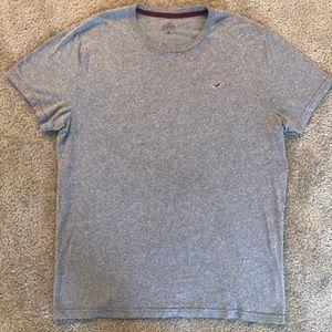 Hollister T-shirt in Heather Gray (XL)